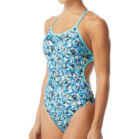 TYR Fragment Crosscutfit Tieback Swimsuit Women blue/multi